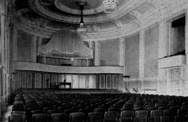 Konzerthaus Orgel