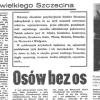 Sołtysi wielkiego Szczecina (7) – Osów bez os