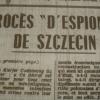 """Środy z historią Szczecina – """"Czas szpiegów w Szczecinie 1945–1953"""""""