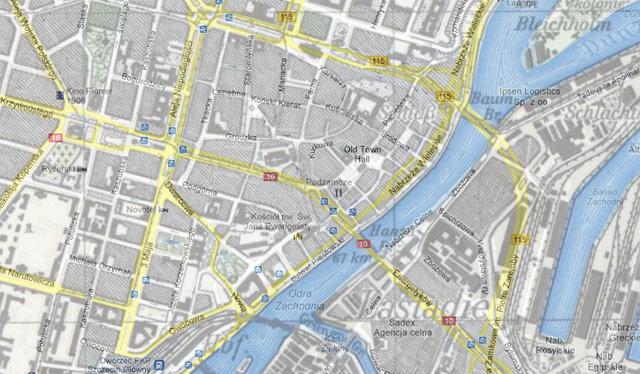 Mapy Szczecina Wczoraj I Dzis