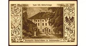 19) Dom urodzenia Ottona von Bismarcka
