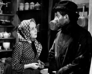 """2) Dita Parlo z Jeanem Gabinem w """"Towarzyszach broni"""" (1937)"""