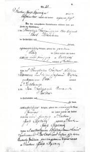 3) Akt małżeństwa Klamann & Parlow (1)