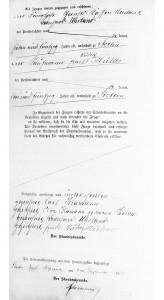 3) Akt małżeństwa Klamann & Parlow (2)