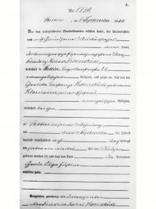 3) Akt urodzenia Dity Parlo