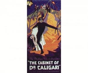 4) Plakat filmu GABINET DR CALIGARI