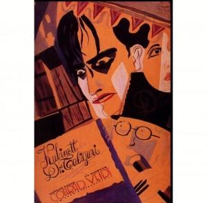 4) Plakat filmu Gabinet doktora Caligari 2