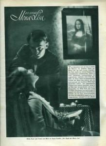 8) Der Raub der Mona Lisa = plakat 2