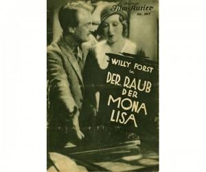 8) Der Raub der Mona Lisa - plakat