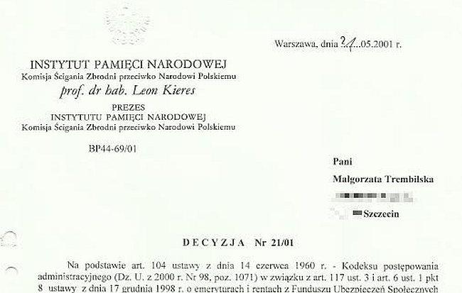 Małgorzata Trembilska – Pół roku i trzy dni (cz. III)