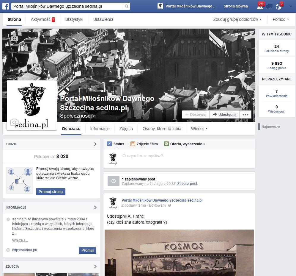 sedina.pl na Facebook