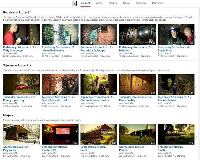 sedina.pl na YouTube